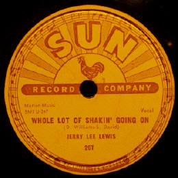 The Sun Records label - compare it to the Love Kills poster...