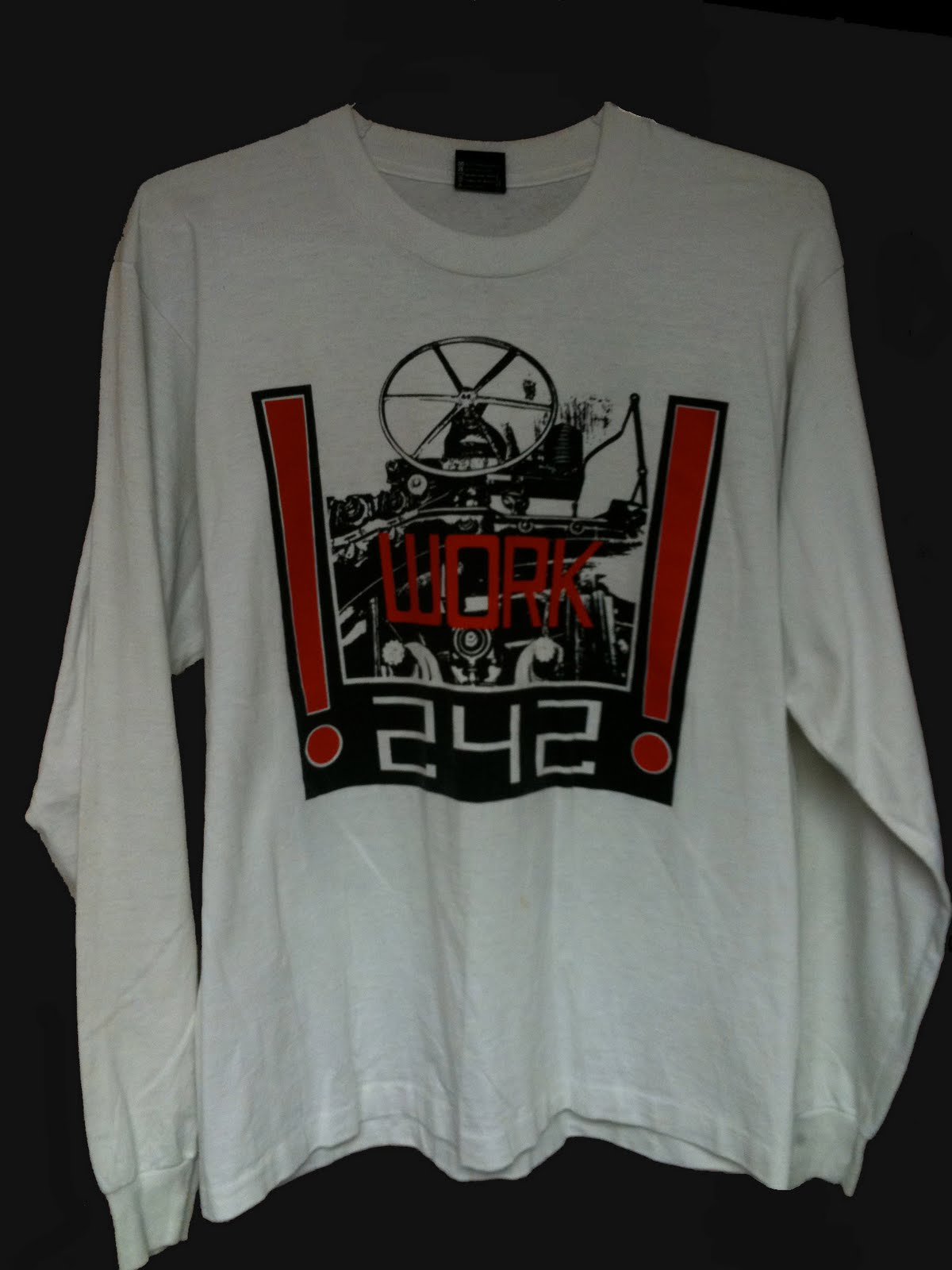 Target Work Shirts Front 242 Collector T Shirt Of The Week Work 242