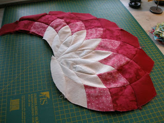Giant Dahlia Quilt Pattern Free Patterns
