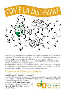 Accommodating Students With Dyslexia >> Tutti a bordo - dislessia: agosto 2010