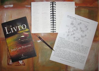 Palavras Cruzadas: Livro, de José Luís Peixoto