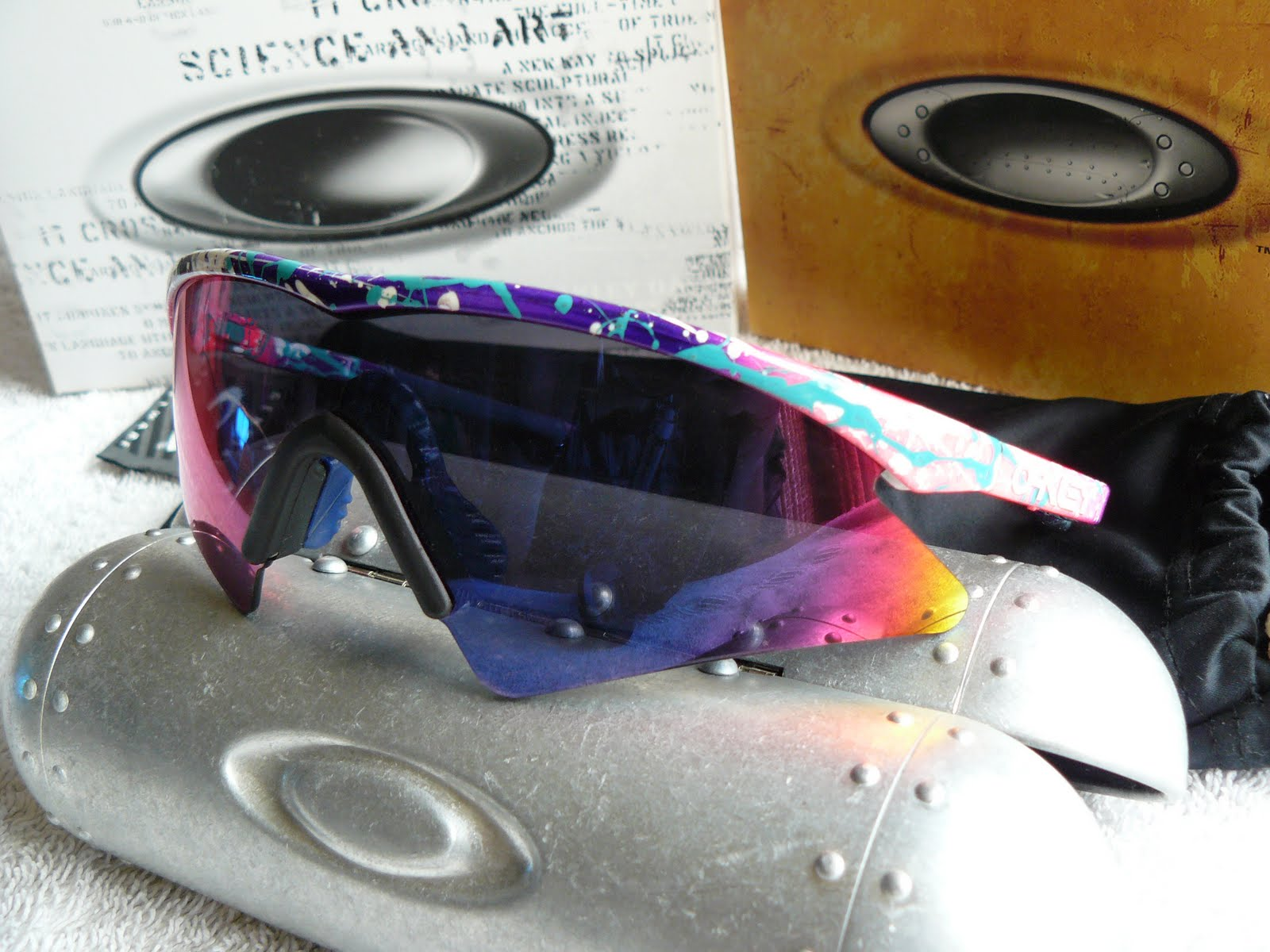 Me And My Oakley My M Frame Collection