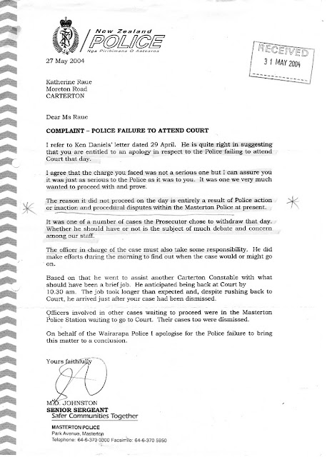 Transparency in New Zealand Kiwikileaks Wairarapa Police and