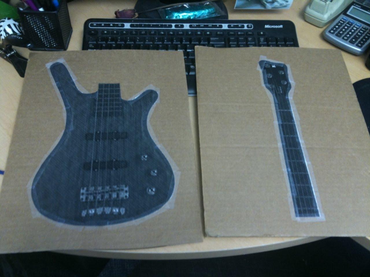 Fender Guitar Cake Template Costumepartyrun