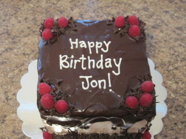Happy Birthday Cake For Jon