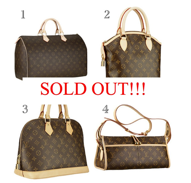 Louis Vuitton Classics Almost Sold Out