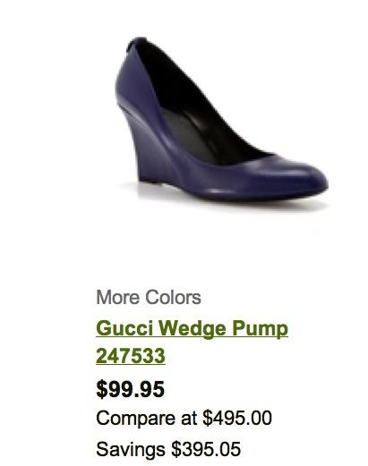 47b3a1531 Madison Avenue Spy: Gucci Sale @DSW Union Sq