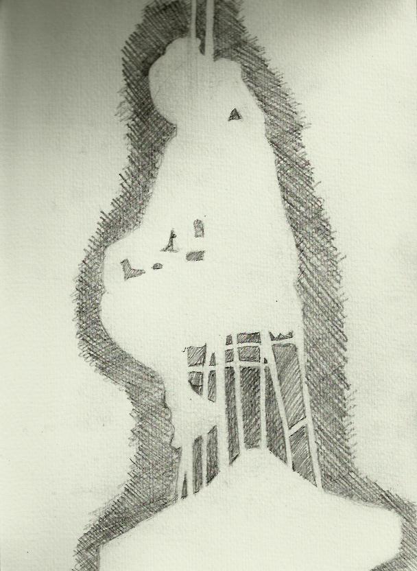 phatpinkpanda Negative Space  Life Drawing