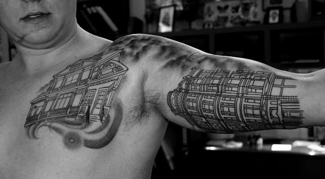 "Tattoo Design Bild: Baby Dragon Year: Inspiration ""Architecture Tattoos"""