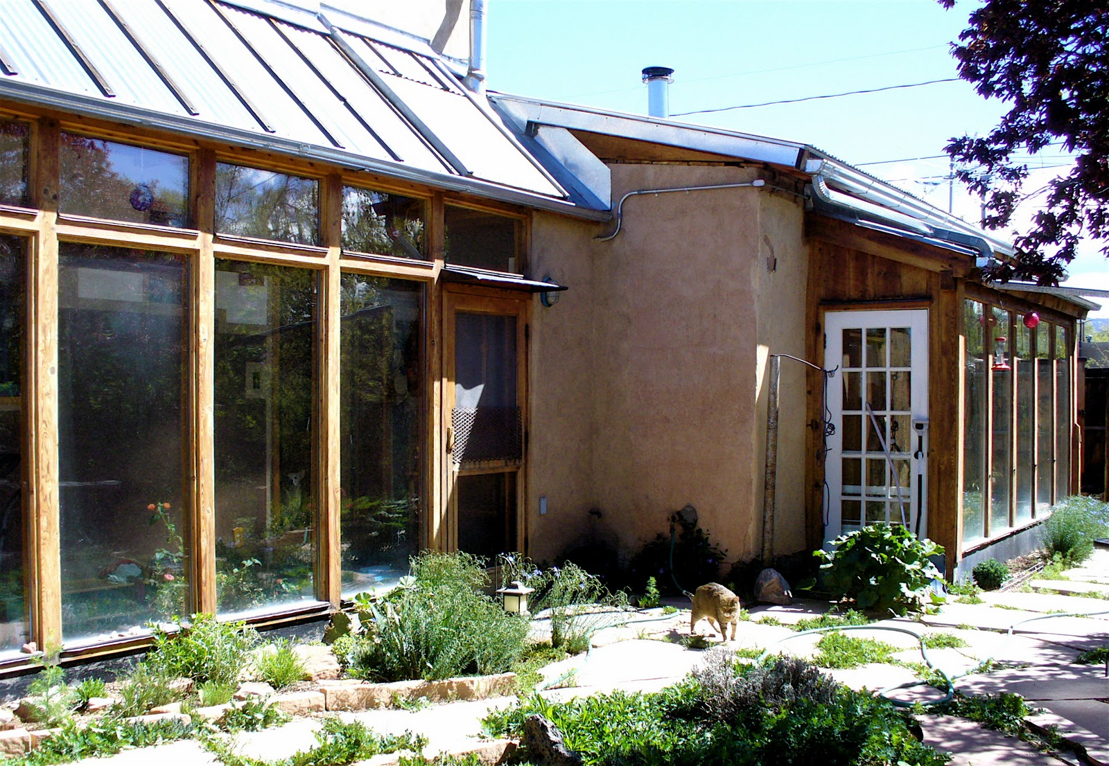 how to build a passive solar house