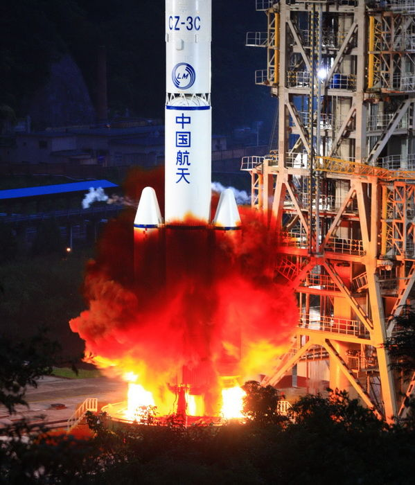 Chang'e II launched in success, China's lunar exploration ...