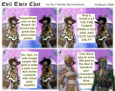 The Friendly Necromancer: March 2009