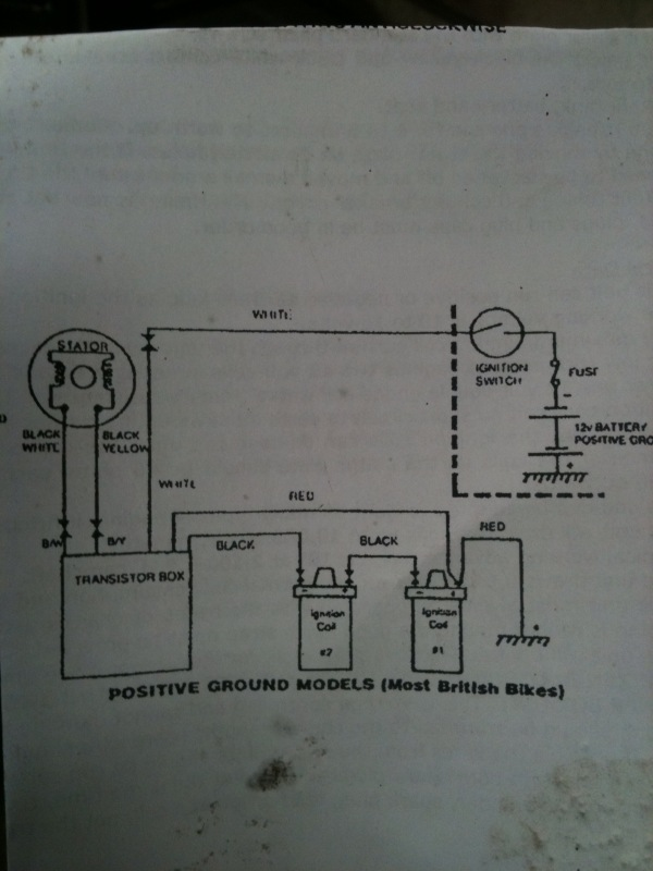 1971 triumph bonneville wiring diagram craftsman lt2000 me and this motorcycle installed the boyer electronic ignition friday march 26 2010