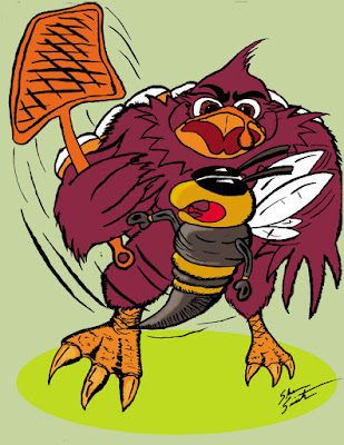 hokie bird coloring pages - photo#30