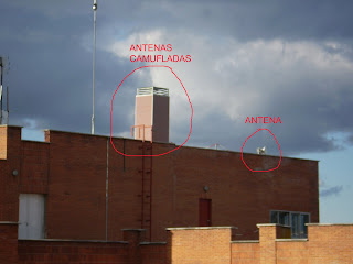Picoantenas en Pamplona: Antenas Camufladas en Clinica San