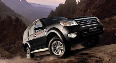 New Look of ford Endeavour Car Photos