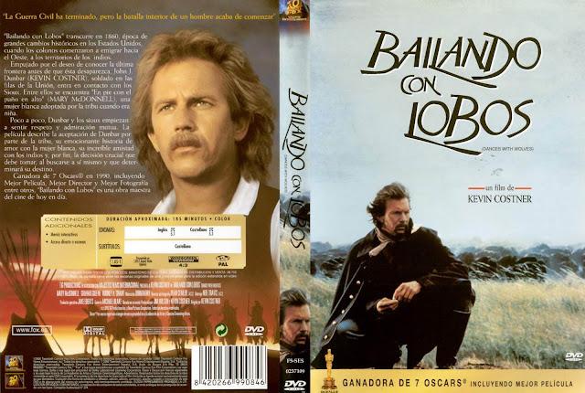 Película DVD Bailando con Lobos - Kevin Costner
