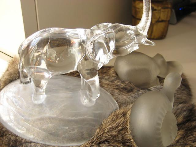 Pisapapeles decorativos de cristal
