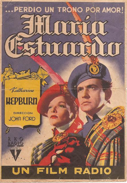 Programa de Cine - María Estuardo - Fredric March - Katharine Hepburn