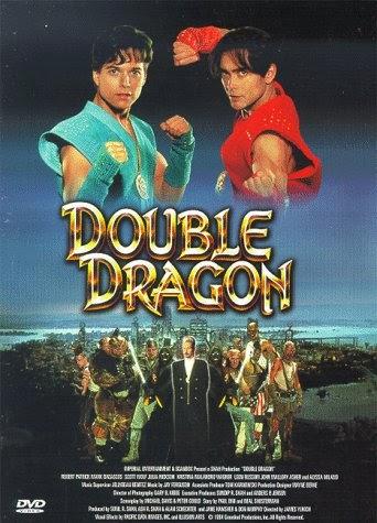double dragon movie necklace