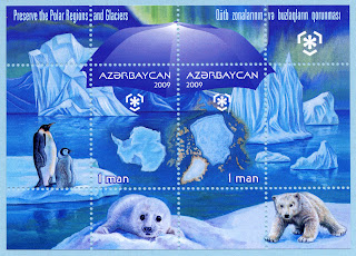 Azerbaijan 2009 Preserve the Polar Regions and Glaciers