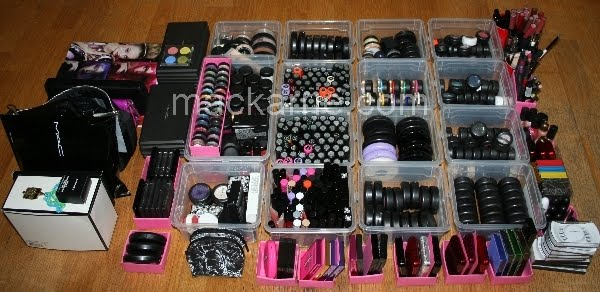 mackarrie beauty style blog make up collection storage aufbewahrung 2010. Black Bedroom Furniture Sets. Home Design Ideas