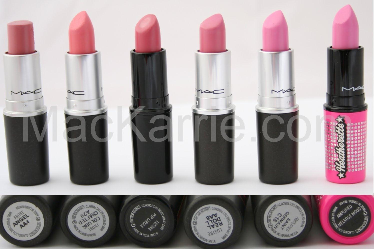 mackarrie beauty style blog mac lipsticks fotos. Black Bedroom Furniture Sets. Home Design Ideas