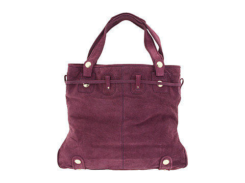 9879db2d5f48 The beautifully detailed Parina bag from Gustto™ is made of soft suede  leather.