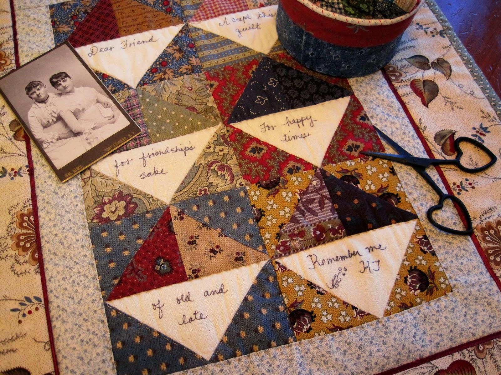 A Sentimental Quilter: Friendship Quilts : friendship quilt blocks - Adamdwight.com