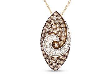 Chocolate Diamond Necklace
