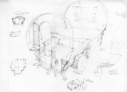 Vardo-Sheepherders Wagon: More plans