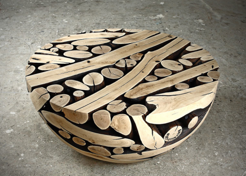 Pine Furniture Sculptures by Jae Hyo Lee