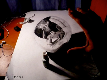 Incredible 3D Pencil Drawing Seen On www.coolpicturegallery.us