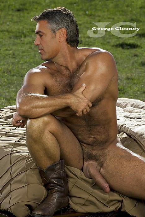 clooney nude George gay