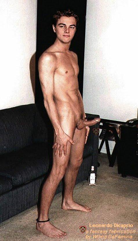 nude leonado dicaprio