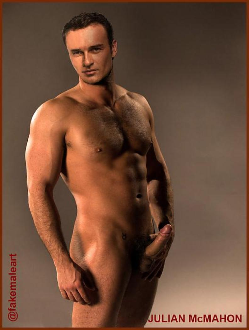 Male Celeb Fakes - Best Of The Net Julian Mcmahon Naked -1989