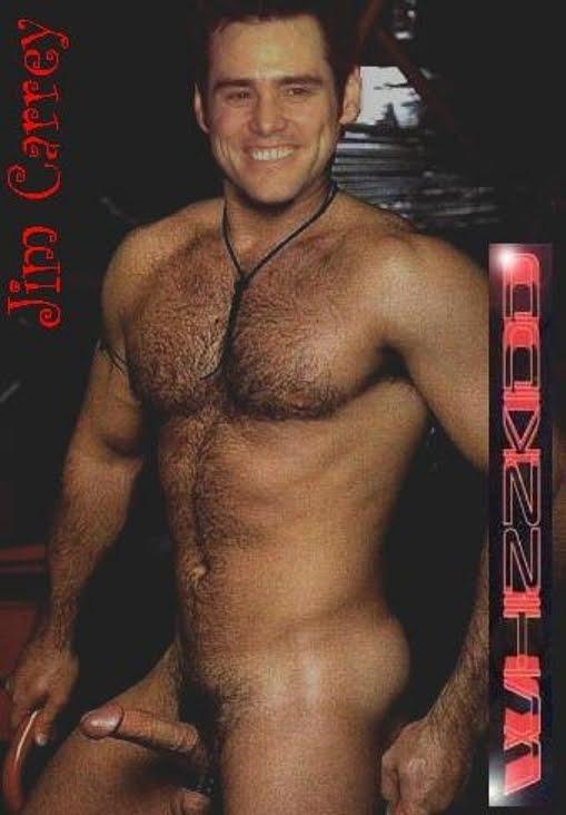 Mand Celeb Forfalskninger - Best Of The Net Jim Carrey amerikansk komiker skuespiller Naked Forfalskninger I Batman Jeg elsker dig Phillip Morris-8012