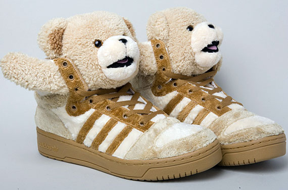 Jeremy Scott Adidas Teddy Bear Shoes Lil Wayne