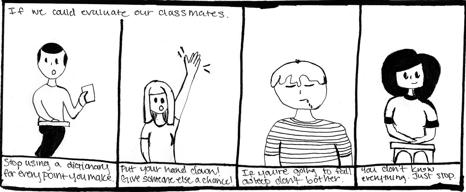 EMJF Comic: Class Evaluations