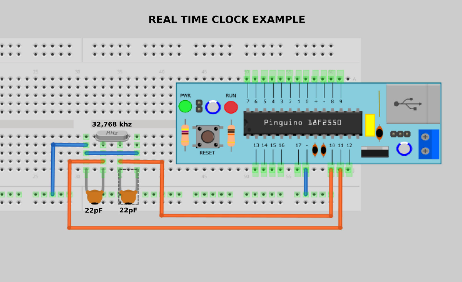 Hackinglab News 2010 Rtcc Panel Wiring Diagram Pinguino As A Real Time Clock