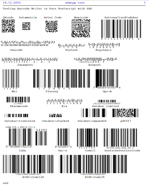 A Basis Life: Printing Barcodes for FREE with SAP