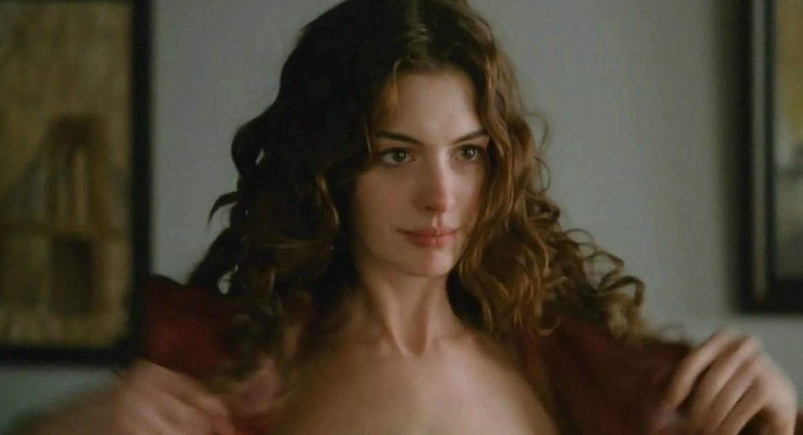 "WEIRDLAND: Anne Hathaway wore fluorescent bras in ""Love ..."