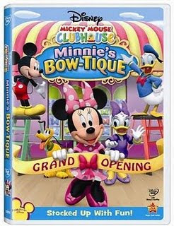 Minnie Mouse DVD