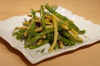 photo salade de haricots