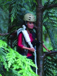 new york catch meet TreeTop Barbie and the Queen of the Forest Canopy ...