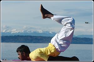 yoga stretches locust pose