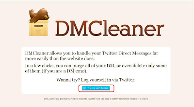 how to delete twitter dms