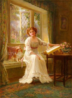 Home Living: Victorian Paintings: Poetry on Canvas