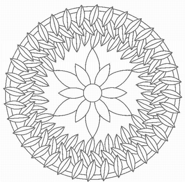 Mandalas Para Pintar: Mandalas De Fantasia Y Flores
