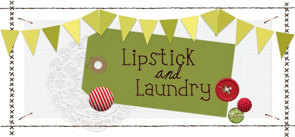 Lipstick and Laundry